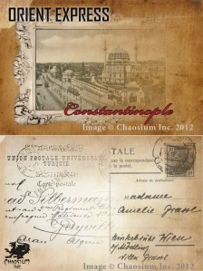 A postcard from Constantinople